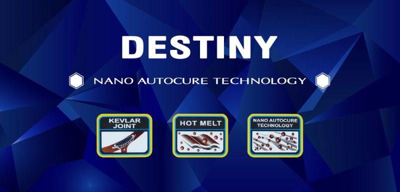 ProKennex là thương hiệu chuyên sản xuất vợt cầu lông nổi tiếng trên toàn thế giới. Những sản phẩm được thiết kế từ nhà vợt này luôn được các chuyên gia đầu tư nghiên cứu, phát triển theo phong cách thời thượng. Đặc biệt, công nghệ vợt Destiny gây được ấn tượng với những ứng dụng huyền thoại.