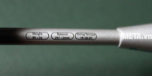 Lựa chọn vợt cầu lông phù hợp thông qua những thông số khác